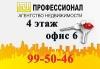 """Агентство недвижимости """"Профессионал"""", город Рязань"""