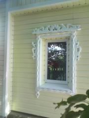 Окно ПВХ в деревенском доме, город Рязань