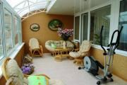 Мебель из ротанга (на лоджии), город Рязань