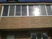 Остекление и отделка балкона, город Рязань