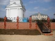 Забор, лестница, город Рязань