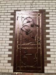 Кованая дверь, город Рязань