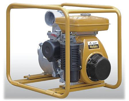 Мотопомпа бензиновая для сильнозагрязненных жидкостей Robin PTG405T, город Рязань