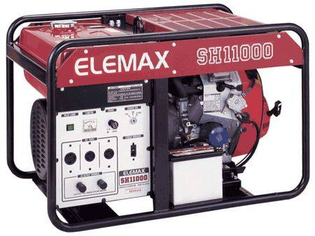 Генератор бензиновый Sawafuji ELEMAX SH 11000, город Рязань