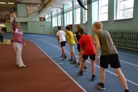 Легкая атлетика, город Рязань