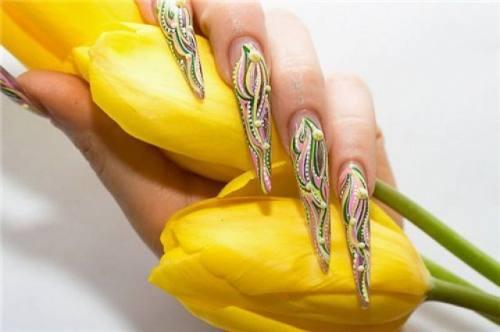 Художественная роспись ногтей, город Рязань
