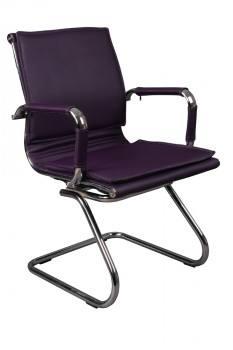 Кресло низкая спинка на полозьях Бюрократ CH-993-Low-V, город Рязань
