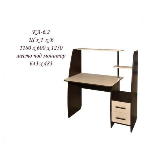 Компьютерный стол КЛ-6.2, город Рязань