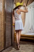 Туника женская вискозная с кружевной спинкой, Laete, город Рязань