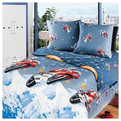 комплект постельного белья из бязи(100% хлопок), т.м.АртПостель, город Рязань