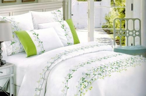 """Комплект постельного белья """"Forest"""" из сатина De Lux 100% хлопок, т.м.Фаворит текстиль, город Рязань"""