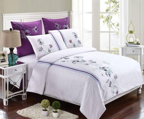 """Комплект постельного белья """"Romance """" из сатина De Lux 100% хлопок, т.м.Фаворит текстиль, город Рязань"""