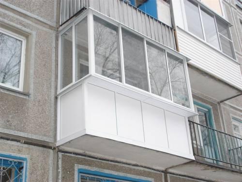 Остекление балконов и лоджий ПВХ, AL, SLIDORS, город Рязань