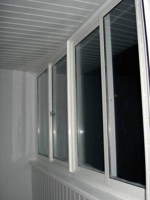 Внутренняя отделка балконов и лоджий под ключ. Остекление балконов и лоджий ПВХ, AL, SLIDORS., город Рязань