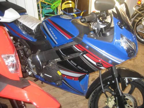 Мотоцикл стелс СВ 200., город Рязань