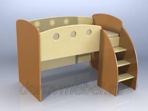Дарья-1 Кровать чердак, город Рязань
