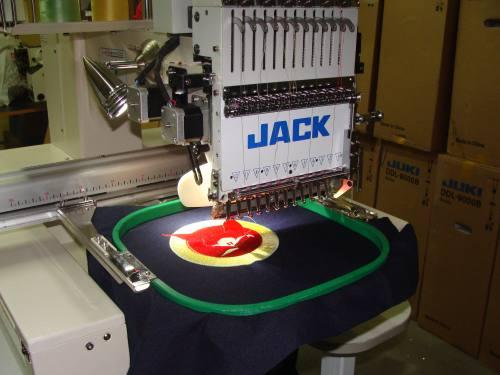 Вышивальная машина jack 1201  одноголовочная, город Рязань