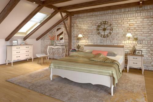 Спальня ЛЕБО из массива сосны (производство SANREMI), город Рязань