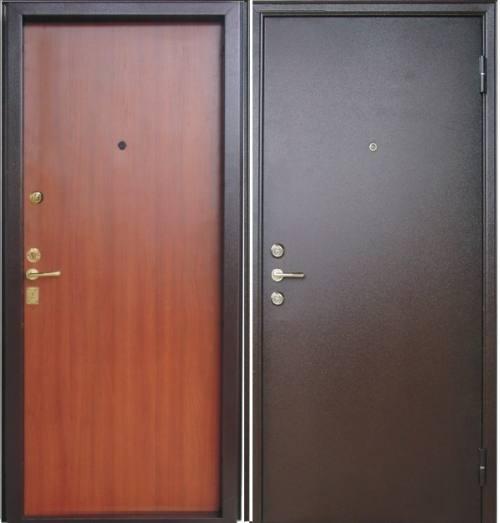 Дверь стальная одностворчатая Acier, город Рязань