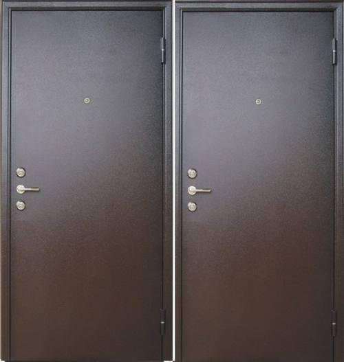 Дверь стальная одностворчатая, город Рязань