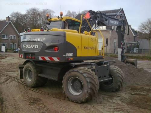 Аренда колесного экскаватора Volvo EW160C, город Рязань