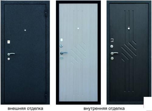 Металлическая дверь Слалом-К, город Рязань