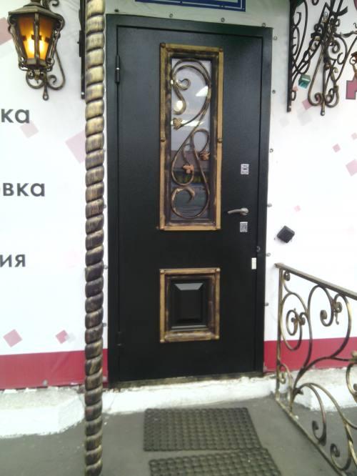"""Металлическая дверь """"Дубрава"""", город Рязань"""