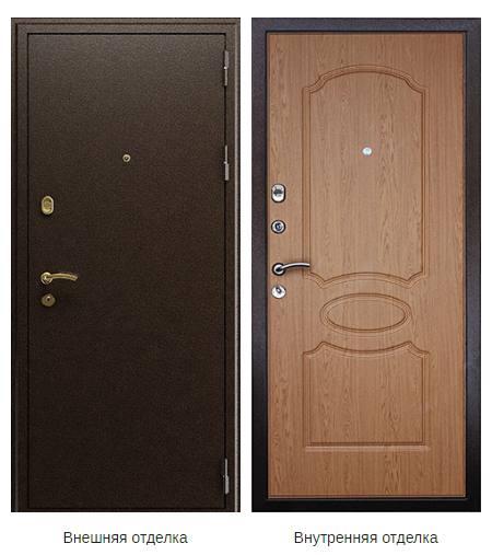 Стальная дверь «Грация», город Рязань