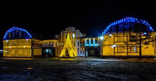 Декоративное освещение, город Рязань