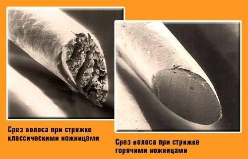 Стрижка горячими ножницами, город Рязань
