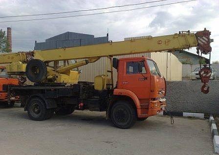 Аренда автокрана 16 тонн Ивановец, город Рязань