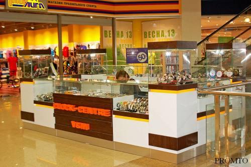 Торговая мебель для ювелирного магазина, город Рязань
