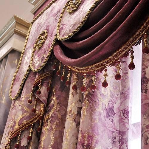 Портьерные и тюлевые ткани, пошив штор на заказ, город Рязань
