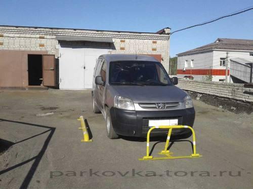 Парковочный барьер - широкий, город Рязань