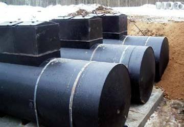 Стальные резервуары для ливневых стоков, очистных сооружений, город Рязань
