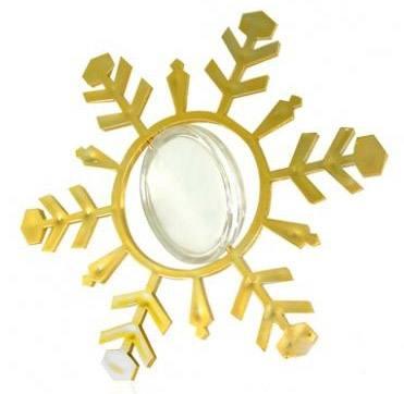 Снежинка-подвеска с фото, город Рязань