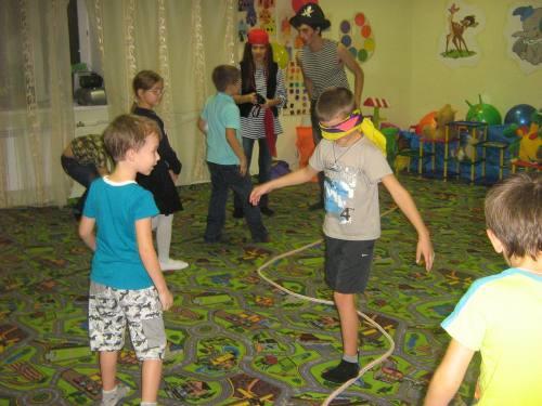 Аниматоры пираты на день рождения, пират на детский праздник, город Рязань