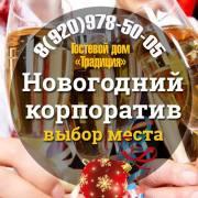 """Новогодний корпоратив в гостевом доме """"Традиция"""", город Рязань"""