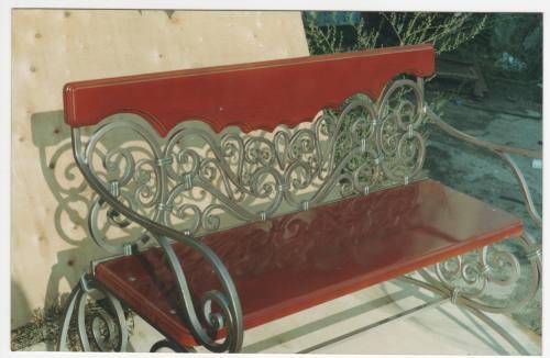 Кованая садовая мебель, город Рязань