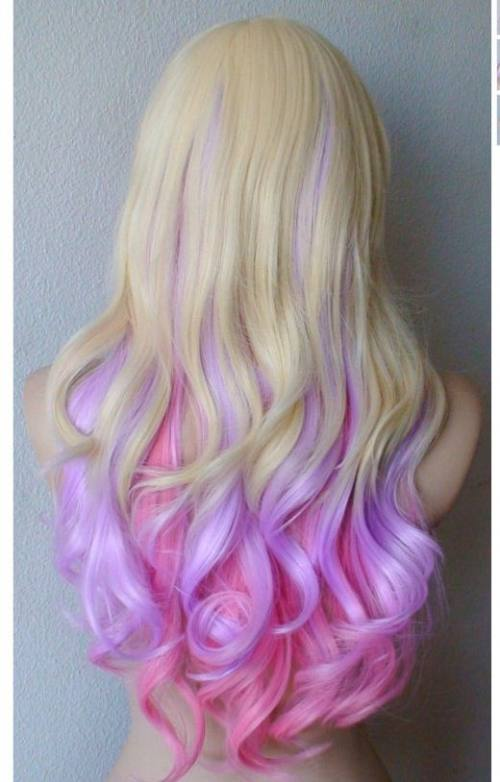 Бьюти-тренд:цветные волосы, город Рязань