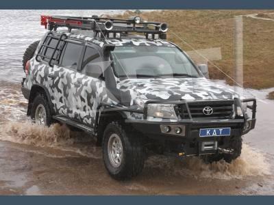 Бамперы силовые передние KDT, город Рязань