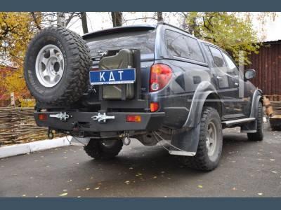 Бамперы силовые задние KDT, город Рязань