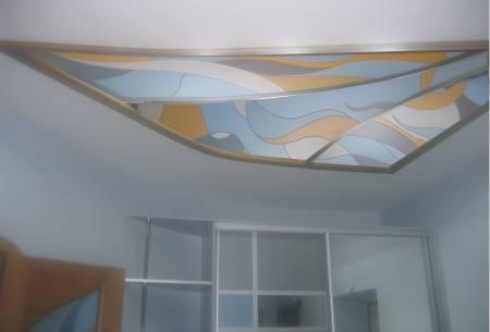 Витражное стекло для потолка АБСТРАКЦИЯ, город Рязань