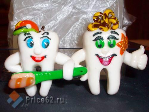 """Брелок ручной работы """"Брелок стоматолога"""". Полимерная глина., город Рязань"""