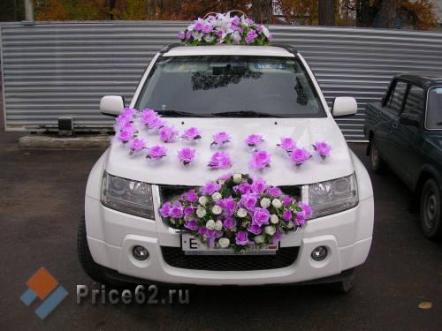 Аренда автомобилей и украшений на свадьбу в Рязани, город Рязань