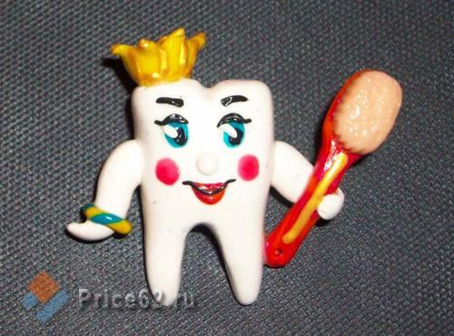 """Значок """"Подарок стоматологу"""". Ручная работа., город Рязань"""