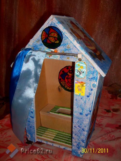 Туалет для кукол. Работа с детьми., город Рязань
