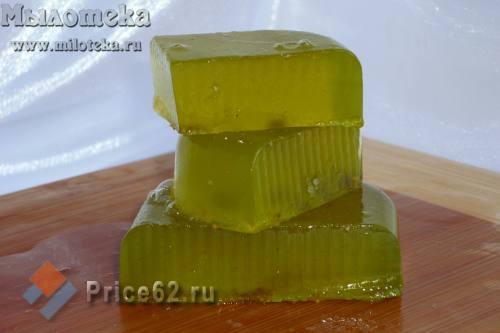"""Твердый шампунь """"Имбирь, мед и яблоко"""", город Рязань"""