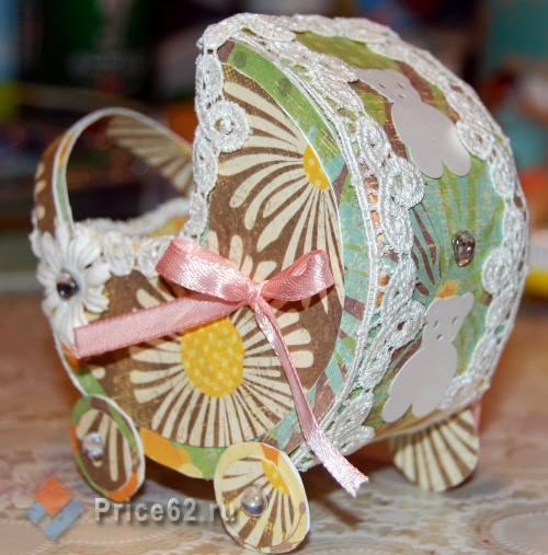 Коробочка для денежного подарка для новорожденных, город Рязань