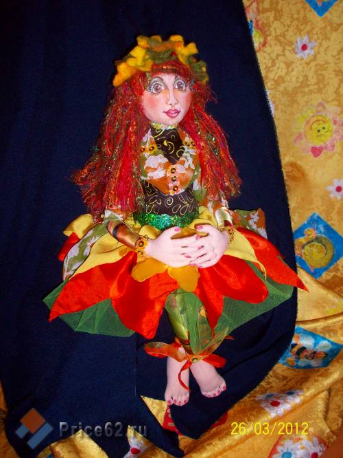 """Авторская кукла """"Осень Зоя"""", город Рязань"""